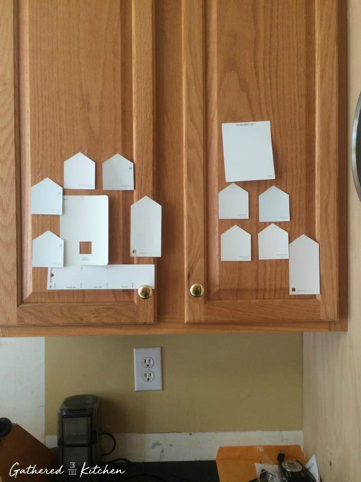 Kitchen Renovation Picking Paint Colors Benjamin Moore Simply White
