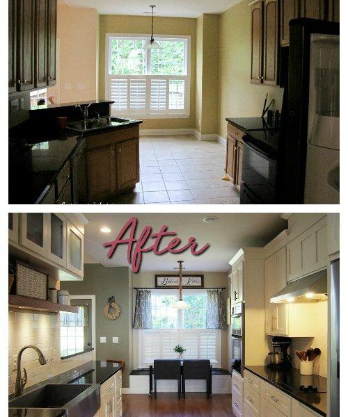 Kitchen Renovation: Before & After for Under $7,000
