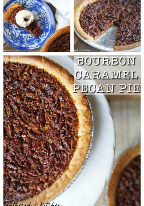 Bourbon Caramel Pecan Pie