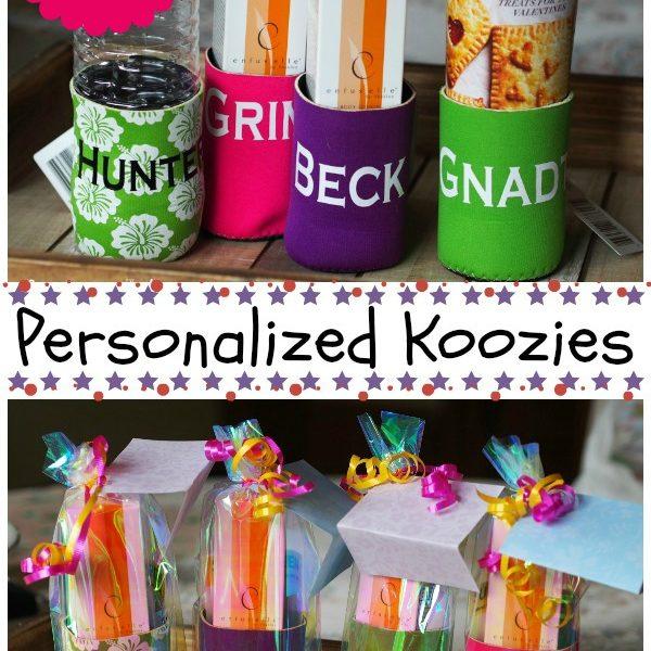 Personalized Koozies + Shaklee Sunscreen