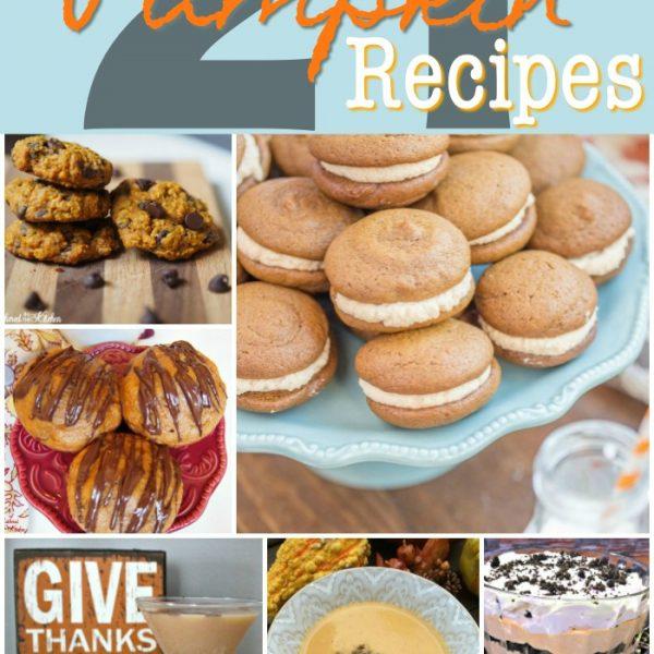 21 Best Pumpkin Recipes