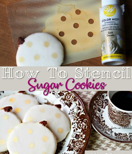 How To Stencil Sugar Cookies | Silhouette Cameo & Wilton Color Mist