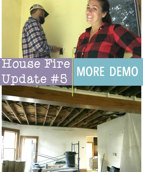 House Fire Update #5: Downstairs Demo