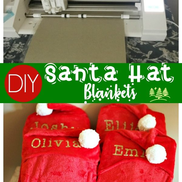 Hooded Santa Hat Blankets