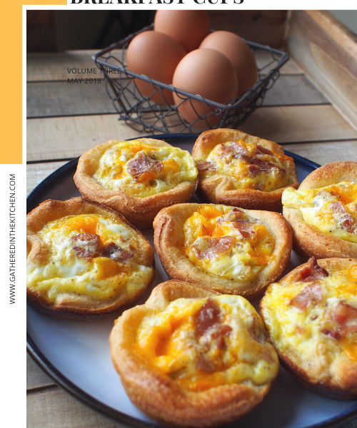 Bacon Egg & Cheese Breakfast Cups