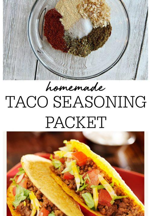 Homemade Taco Seasoning Packet
