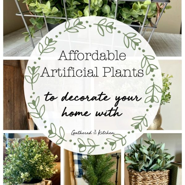 Decorating with Plants | Affordable Artificial Farmhouse Plants