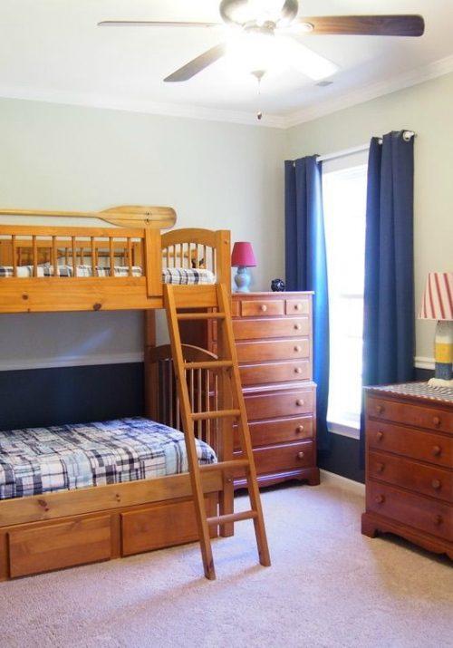 Boys Bedroom- Outdoor Decor Theme