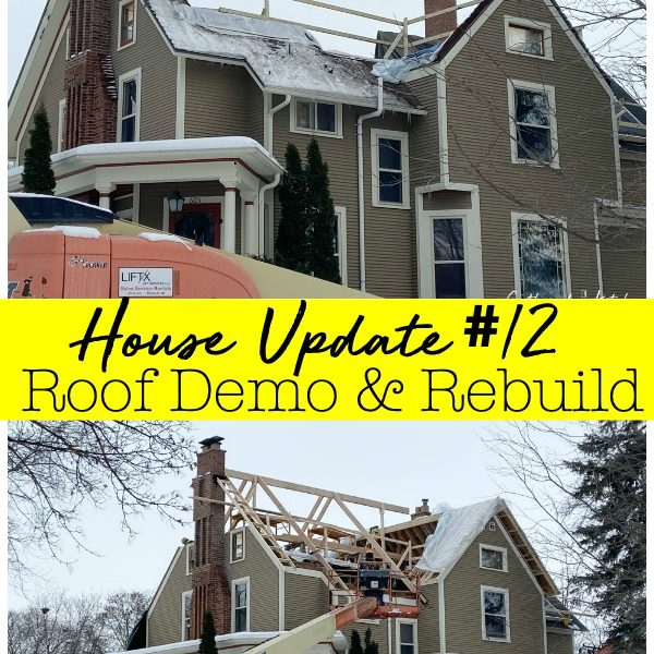 House Update – Roof Demo & Rebuild
