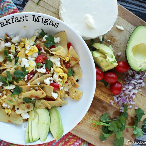 Breakfast Migas | Mexican Breakfast