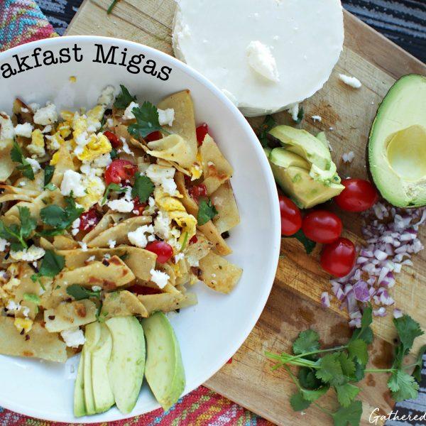 Breakfast Migas   Mexican Breakfast