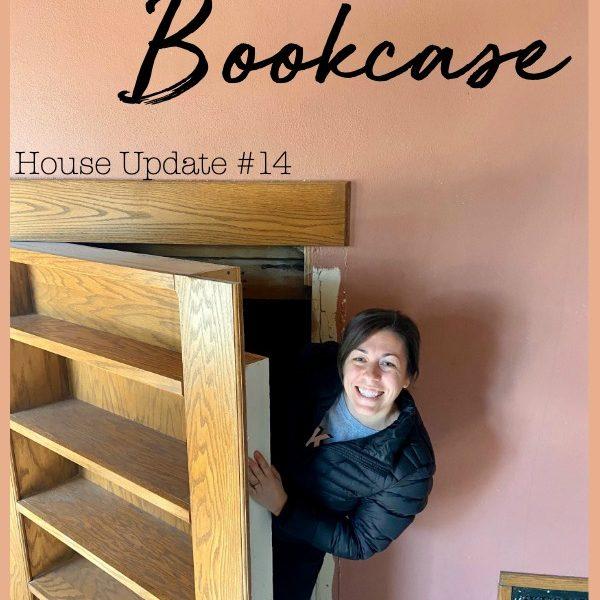 House Update #14: Secret Bookcase!