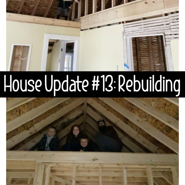 House Update #13: Beginning of Rebuilding