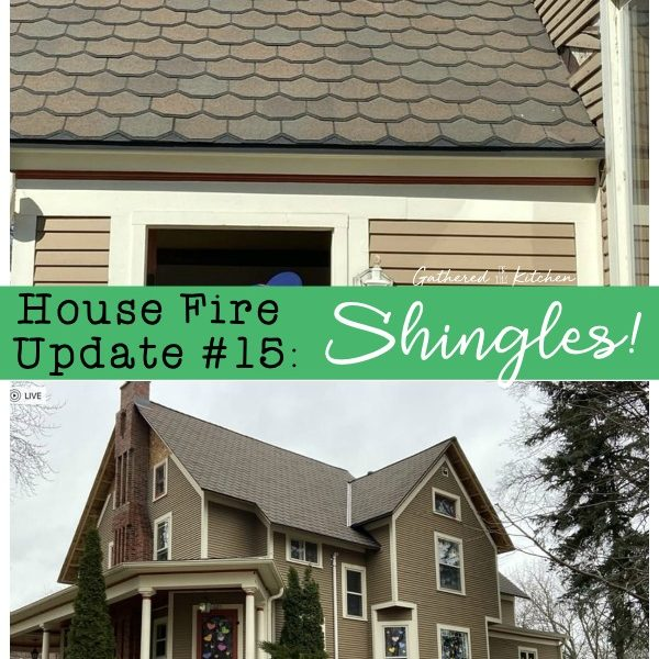 Update #15 We Have Roof Shingles!