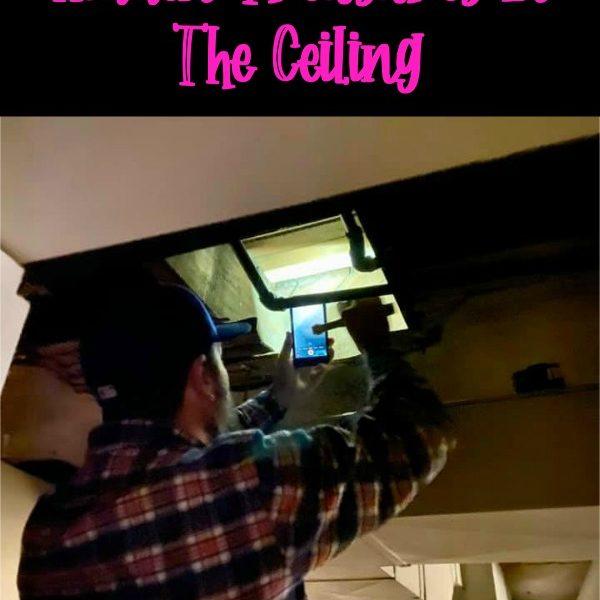 House Update #22 – Treasures Hidden In The Ceiling