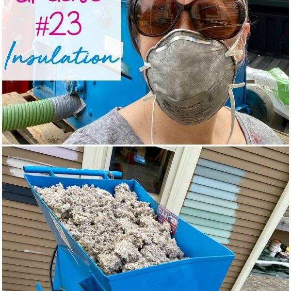 House Update #23: Insulation
