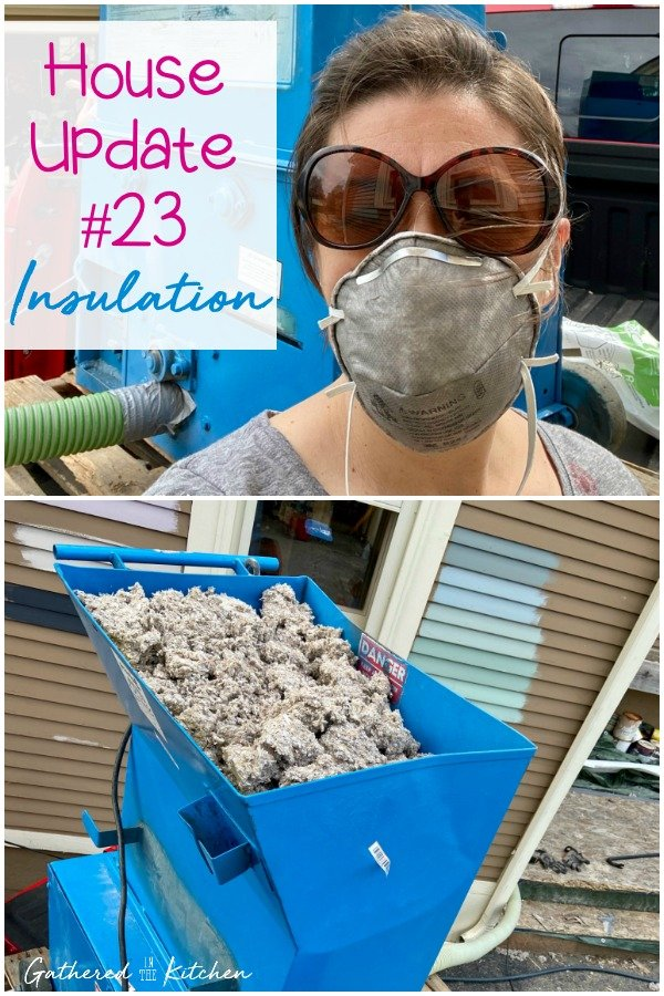 How to blow in loose-fill cellulose insulation