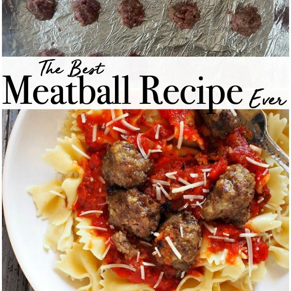 The Best Meatball Recipe Ever!