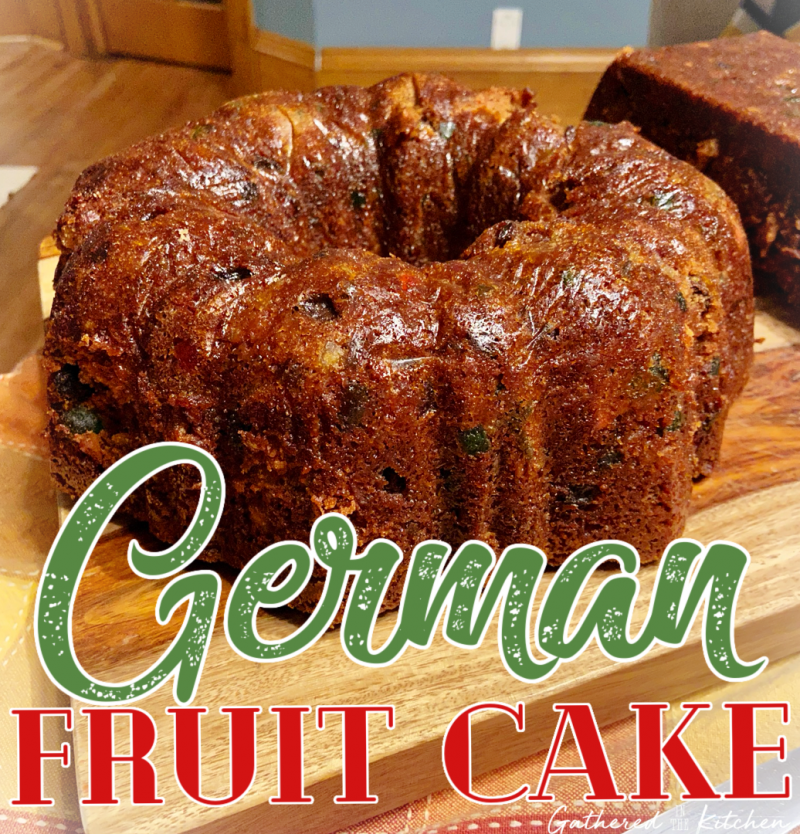German Fruit Cake