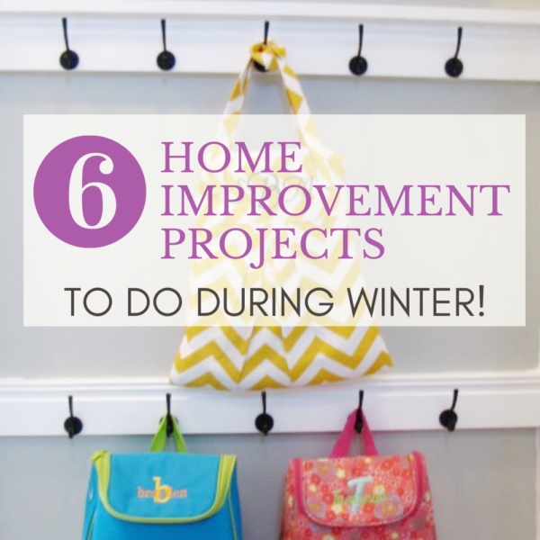 6 Home Projects To Do Inside