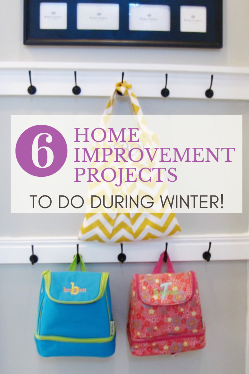 6 home projects to do during winter