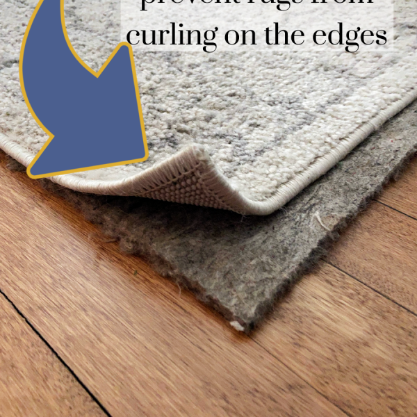 How To Stop Rugs From Curling On The Corners and Edges