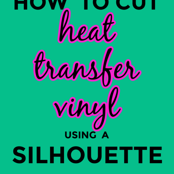 How To Cut Heat Transfer Vinyl Using A Silhouette Cameo | Beginner Tutorial