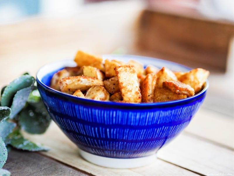 Crispy Breakfast Potatoes in bowl