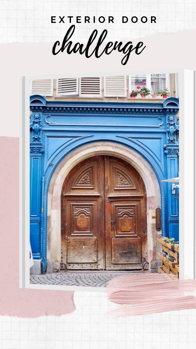 Exterior Door Blog Challenge