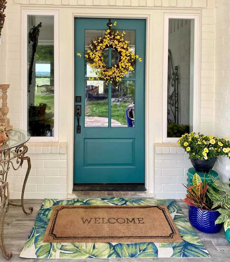Beautiful Spring Porch Decor