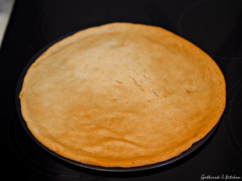 baked sugar cookie pie crust