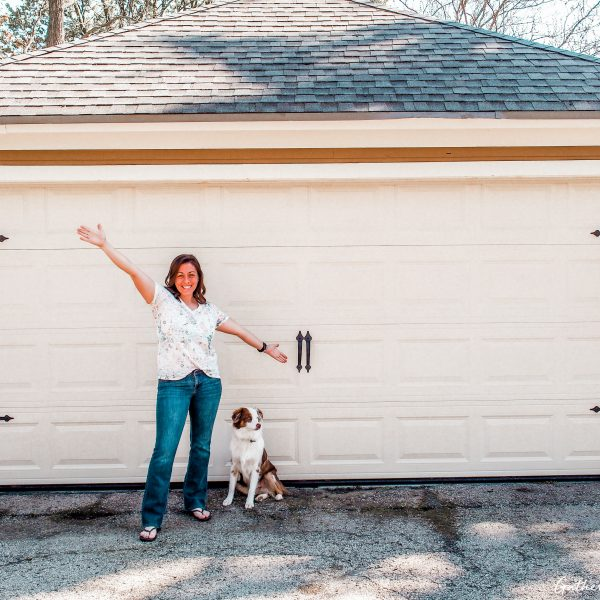 Garage Door Makeover | How To Install Carriage Door Hardware