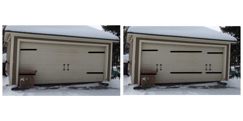 Garage Door Hardware Mockup