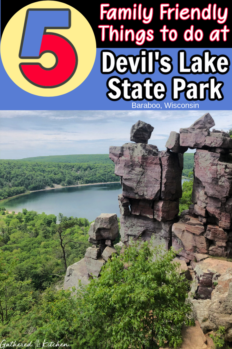 5 Family Friendly Things to do at Devil's Lake State Park, Wisconsin