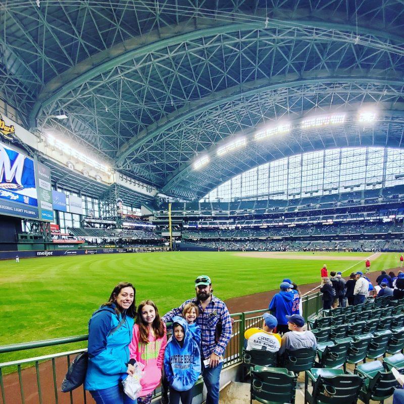 Milwaukee Brewer's Indoor Baseball Stadium