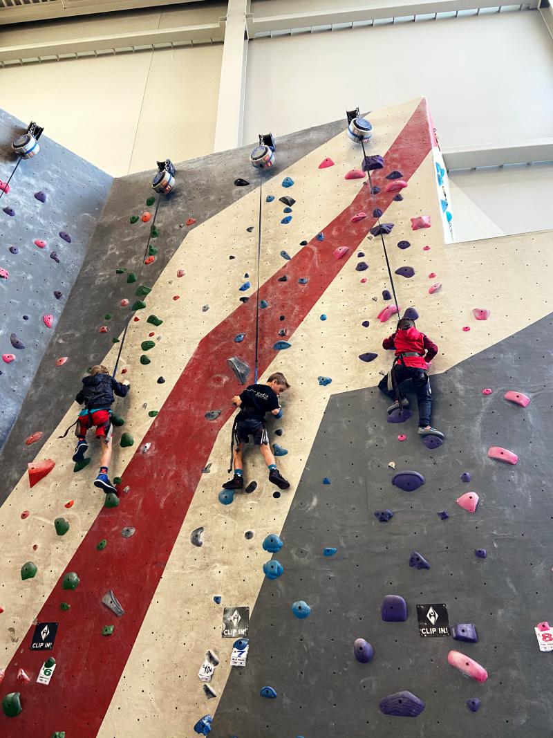 Indoor Rock Climbing in Milwaukee, WI