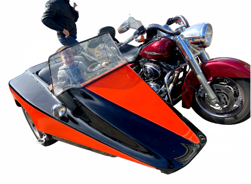 Harley Davidson Road King and Side Car