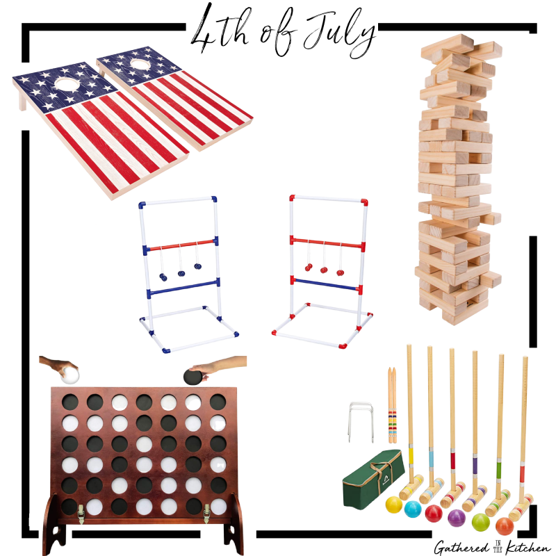 4th of July Backyard Games