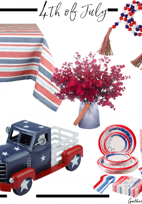4th of July Tablescape