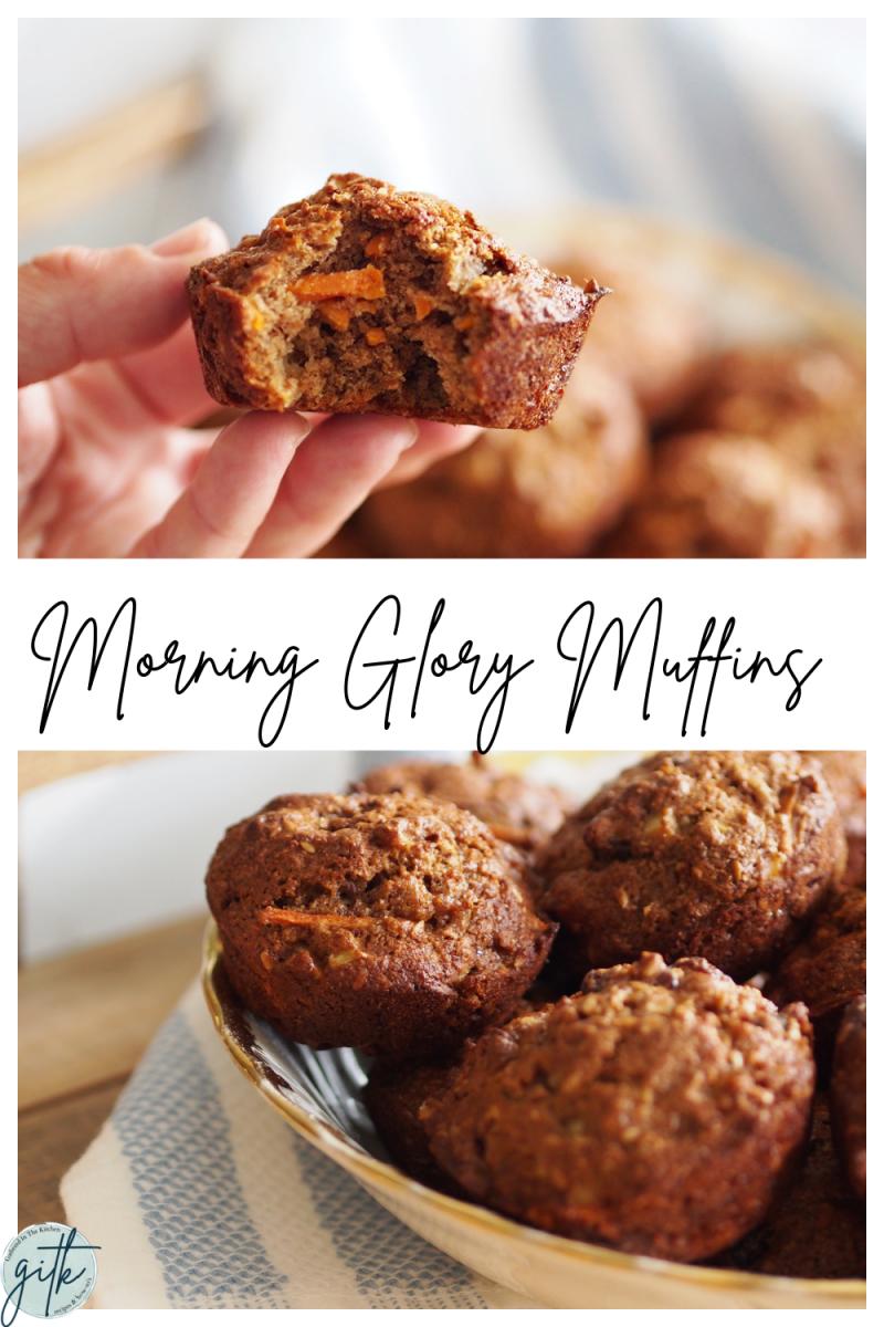 Morning Glory Muffin Recipe | Healthy Breakfast Ideas