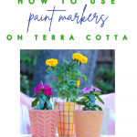 How to use paint markers on terra cotta