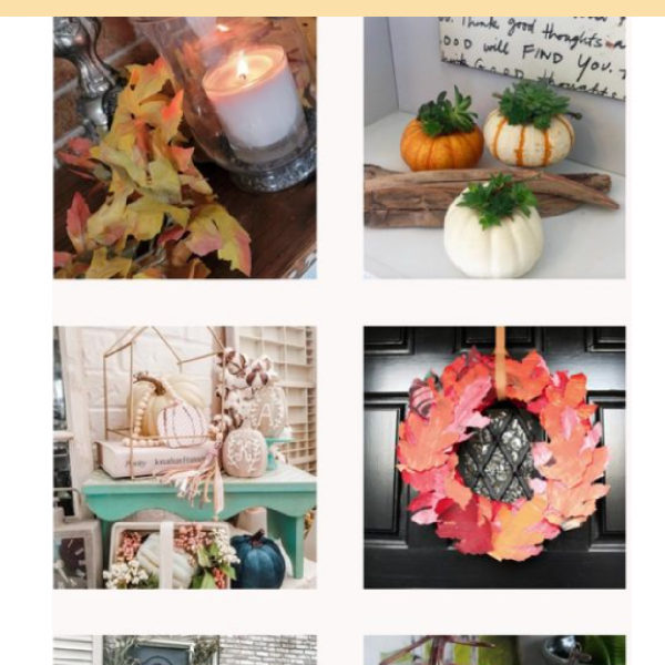 11 Easy Home Decor Crafts for Fall