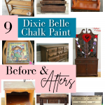 9 Before & After Dixie Belle Chalk Paint Projects   Gathered In The Kitchen