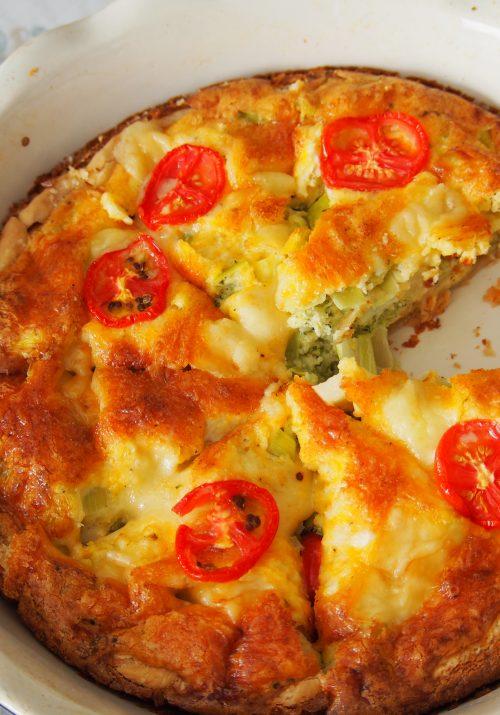 Broccoli Quiche - The best quiche ever!