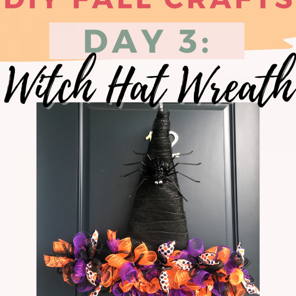 How To Make A Dollar Tree Witch Hat Wreath