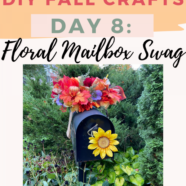 How To Make A Mailbox Swag for Fall