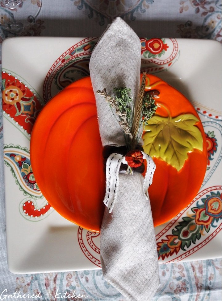 How To Fold Napkins & Make A Napkin Ring | Gathered In The Kitchen