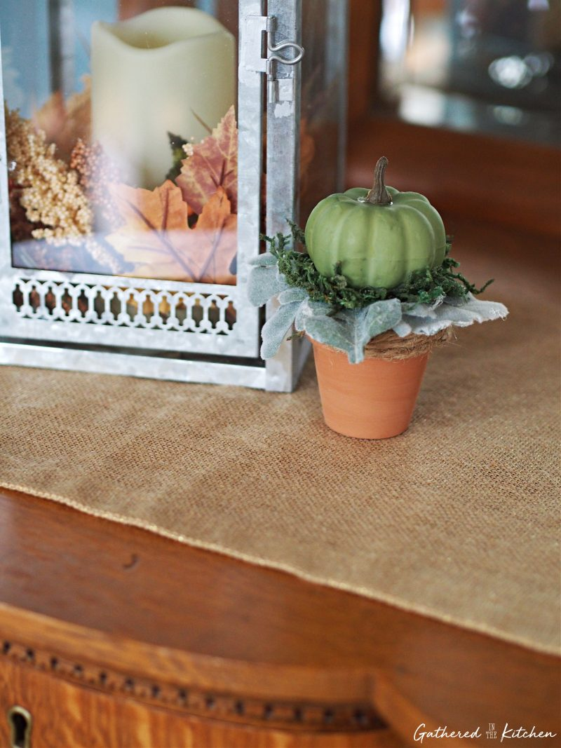 How To Make Pumpkin Topiaries | Gathered In The Kitchen